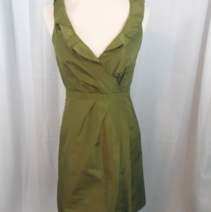 J. Crew blakely silk taffeta dress sz 0
